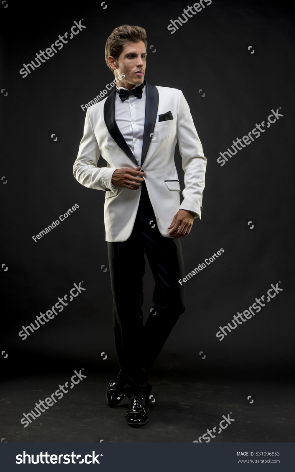 Dressed For The New Year: Tuxedo
