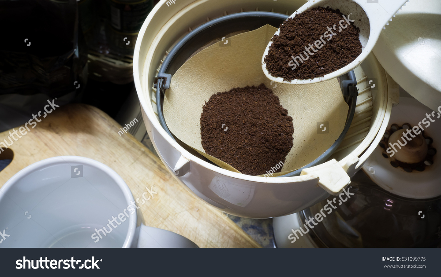 ground coffee stock photo - photo #28