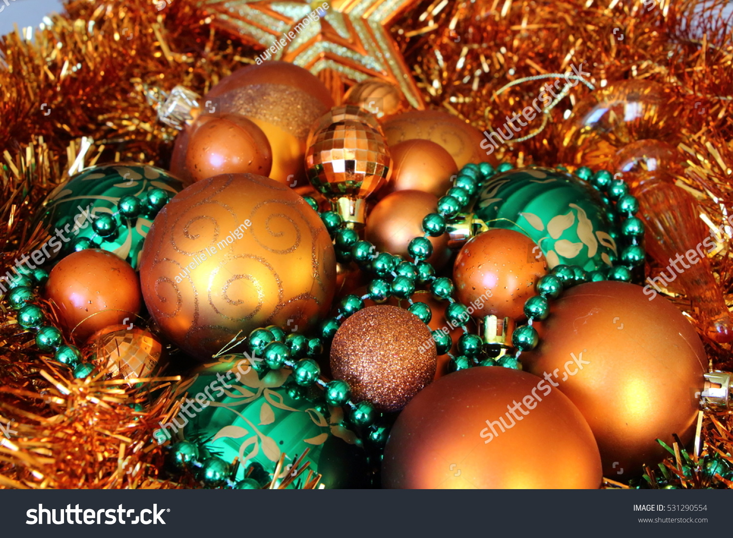 christmas decorations christmas decorations and tinsel in different colors ez canvas