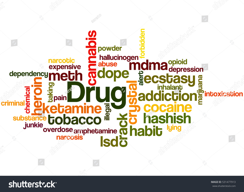 Drug Names Word Cloud Concept On Stock Illustration 531477913