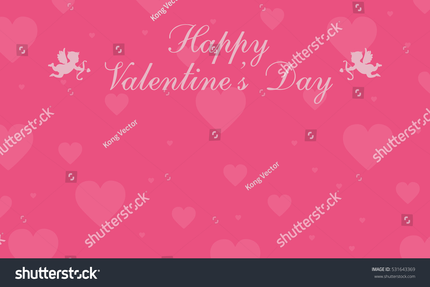 Valentine Day Greeting Card Backgrounds Ez Canvas