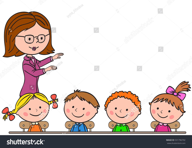 Children Listening To Teacher Cartoon | www.pixshark.com ...