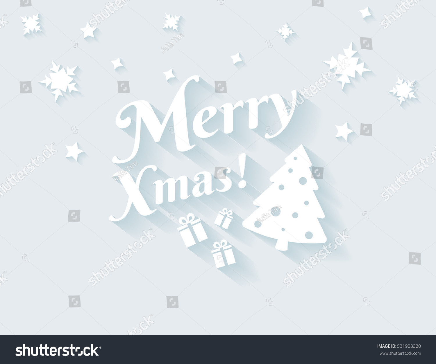 Merry xmas white text long shadows stock vector 531908320 shutterstock merry xmas white text with long shadows for christmas greetings flat illustration of modern christmas m4hsunfo
