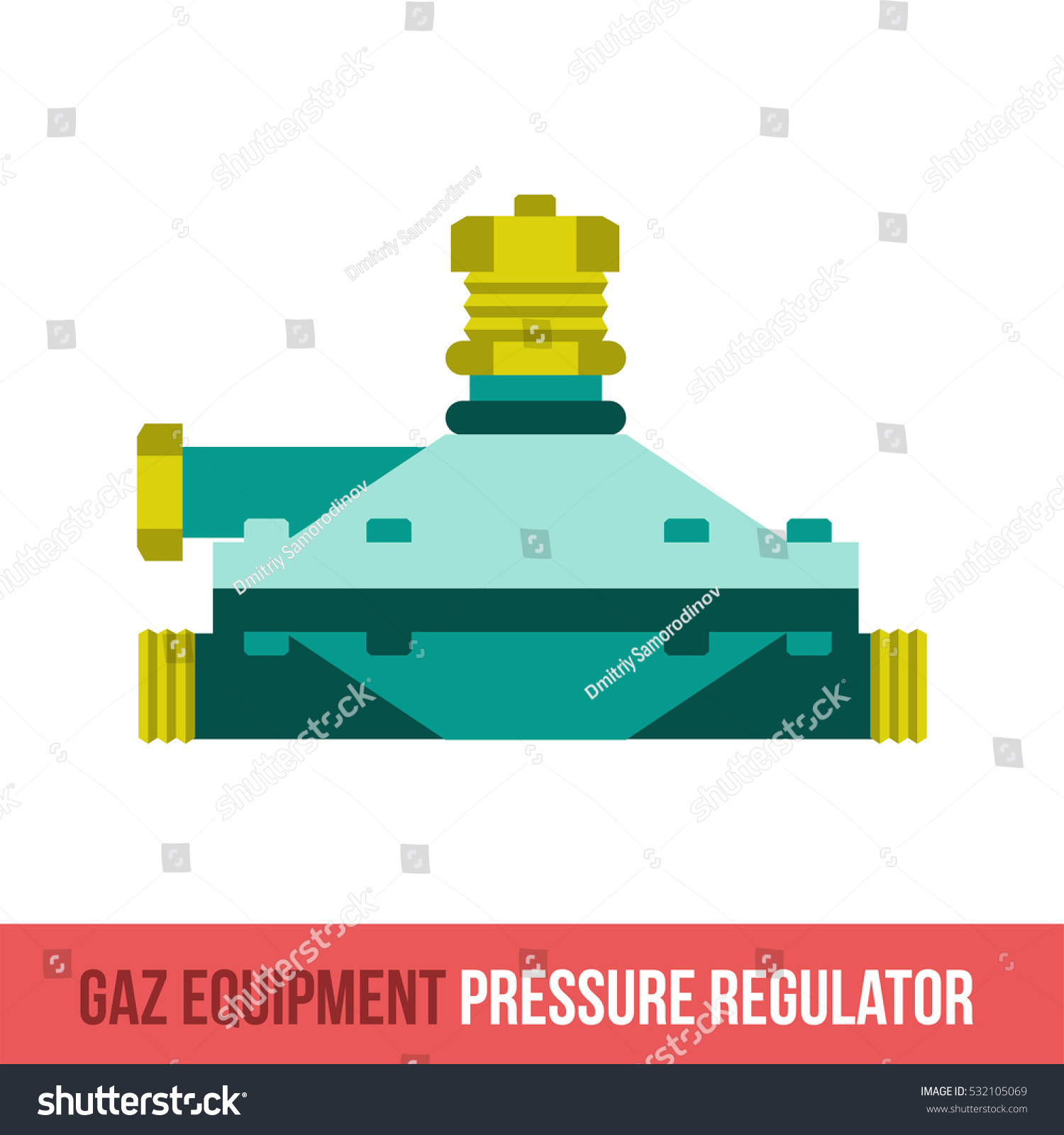 Royalty Free Stock Illustration of Flat Icon Spare Parts Gas Boilers ...