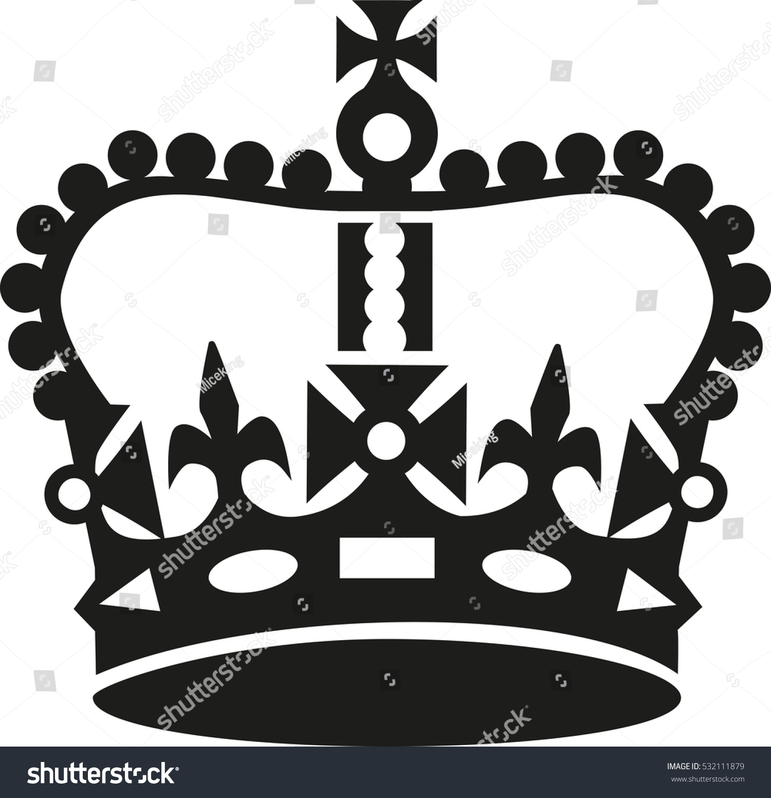 crown keep calm style stock vector 2018 532111879 shutterstock rh shutterstock com keep calm crown vector png keep calm crown vector cdr
