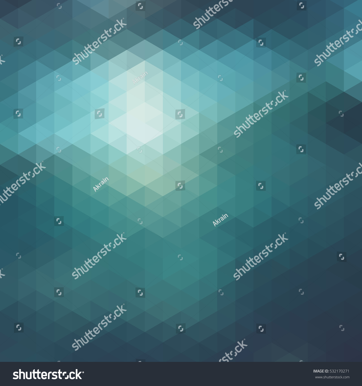 abstract background triangles muted shades stock vector