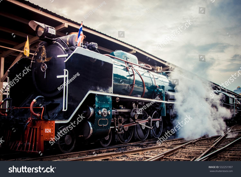 steam locomotive bangkok thailand