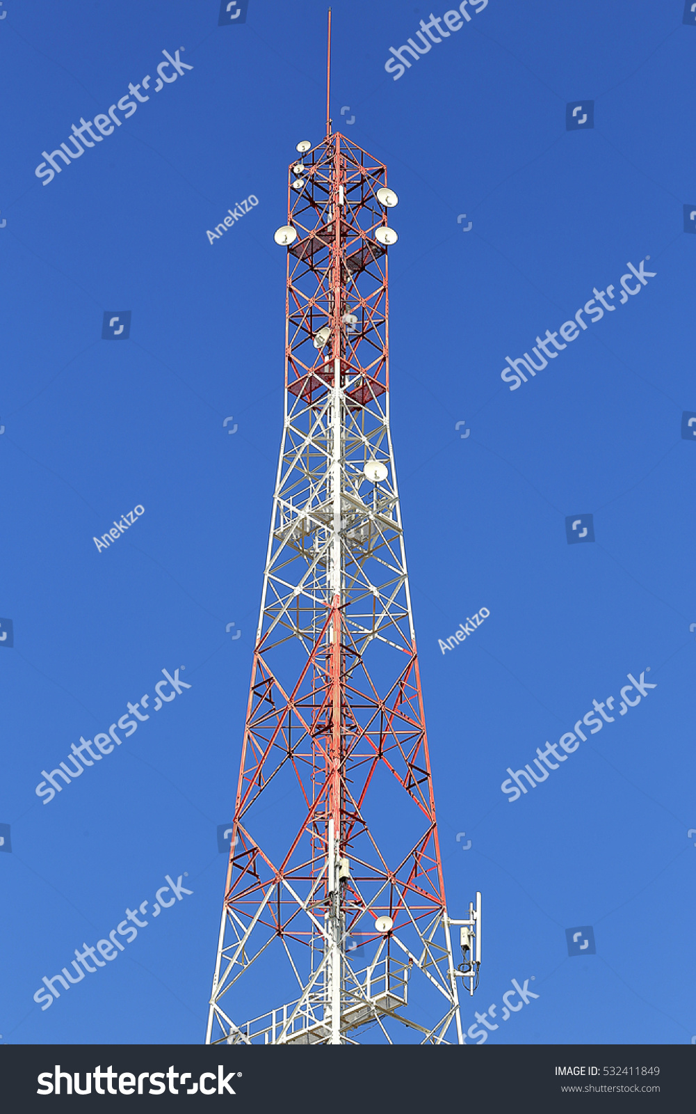 Enchanting Wireless Telecommunication Towers Photos - Electrical ...