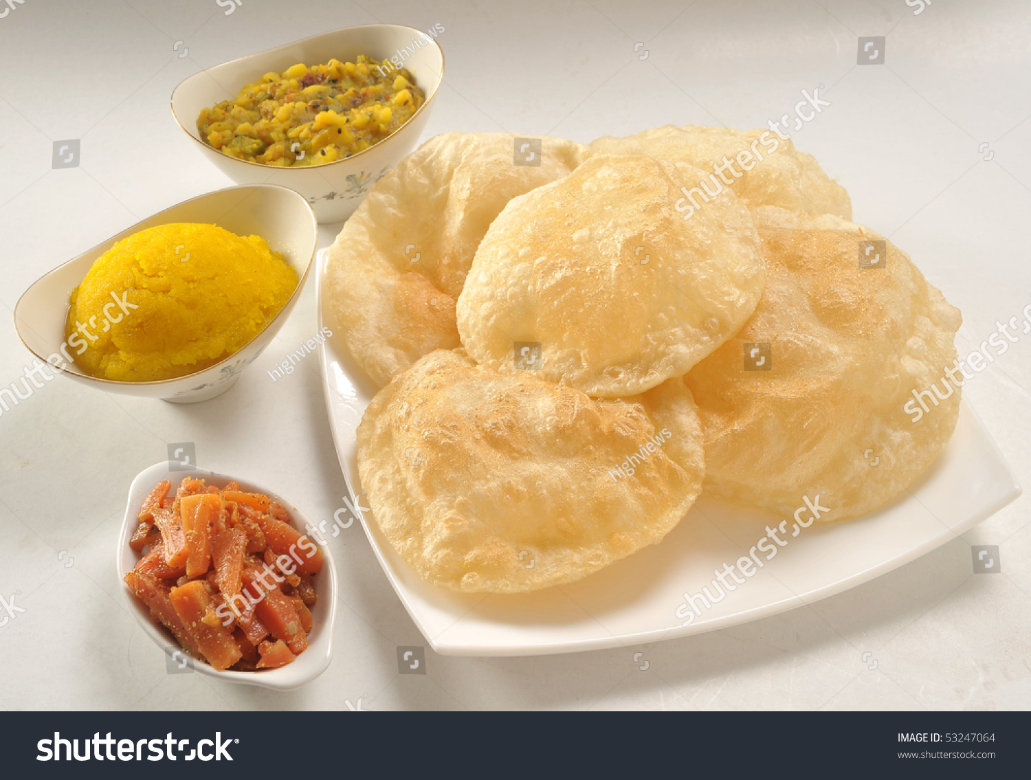 how to make halwa puri