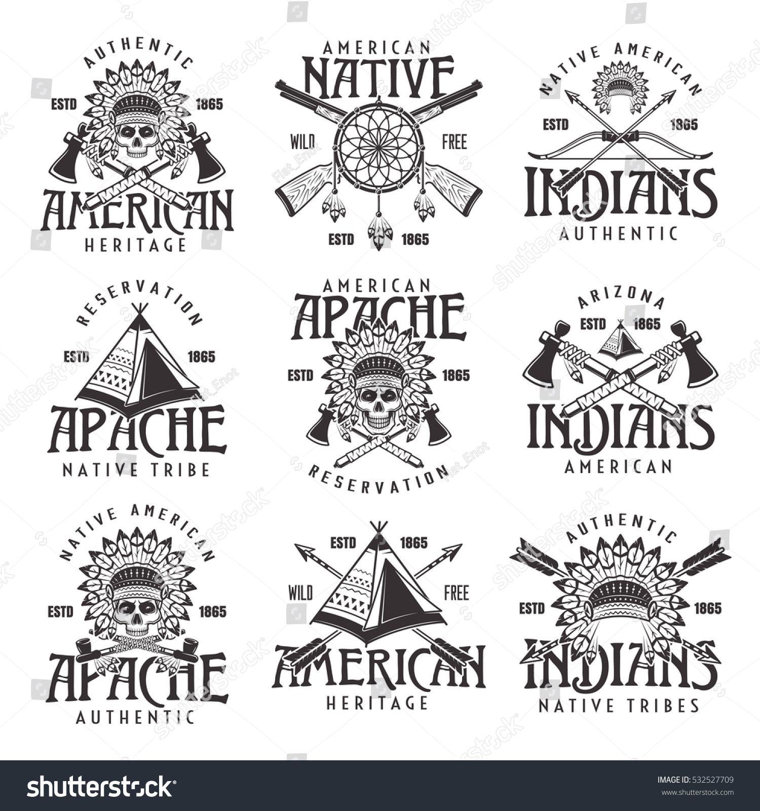 Similiar Apache Tribal Symbols Meanings Keywords