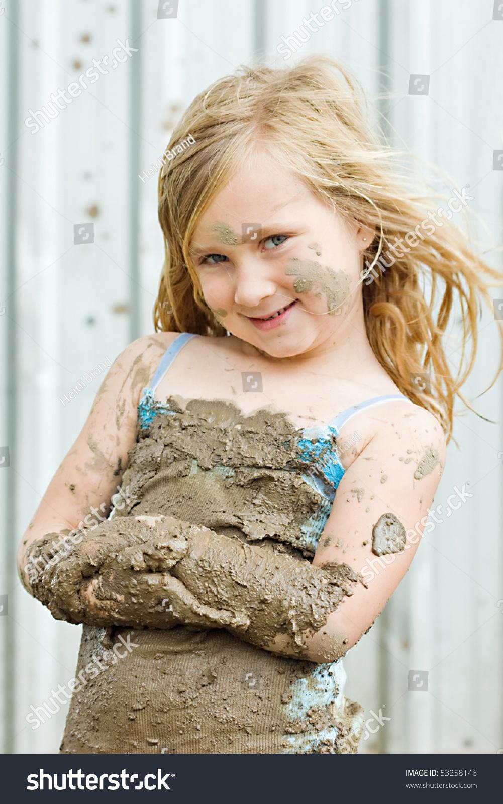 Teen Jean Mud Naked 116