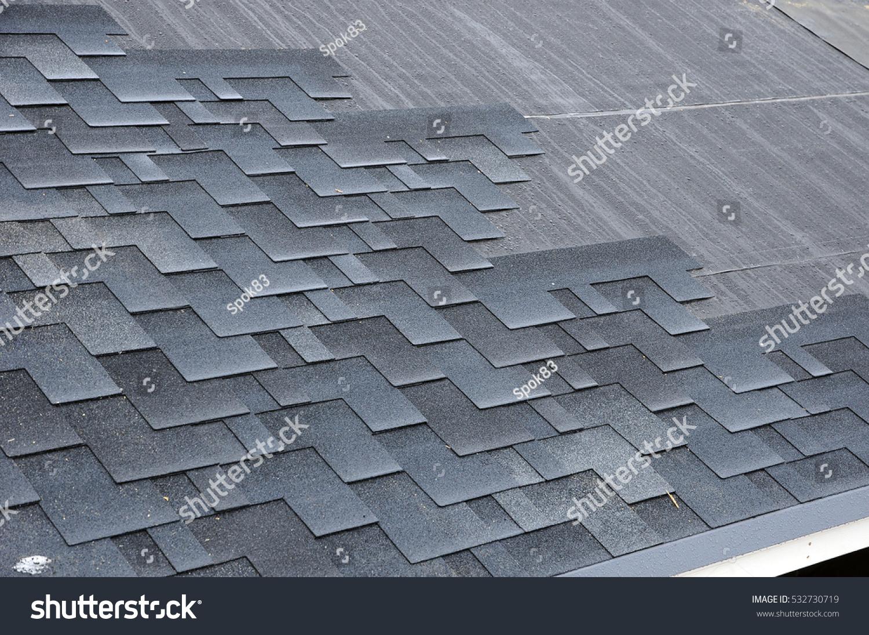 Bitumen Tile Roof. Installing Shingles. Installing Bitumen Roof Shingles.