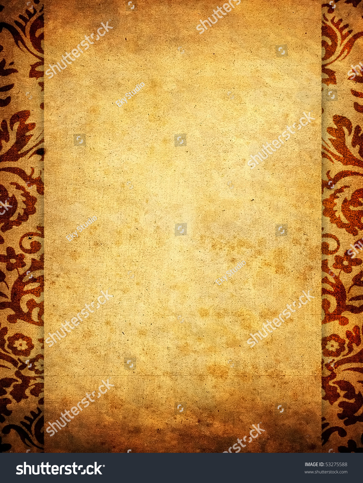 antique scroll backgrounds - photo #11