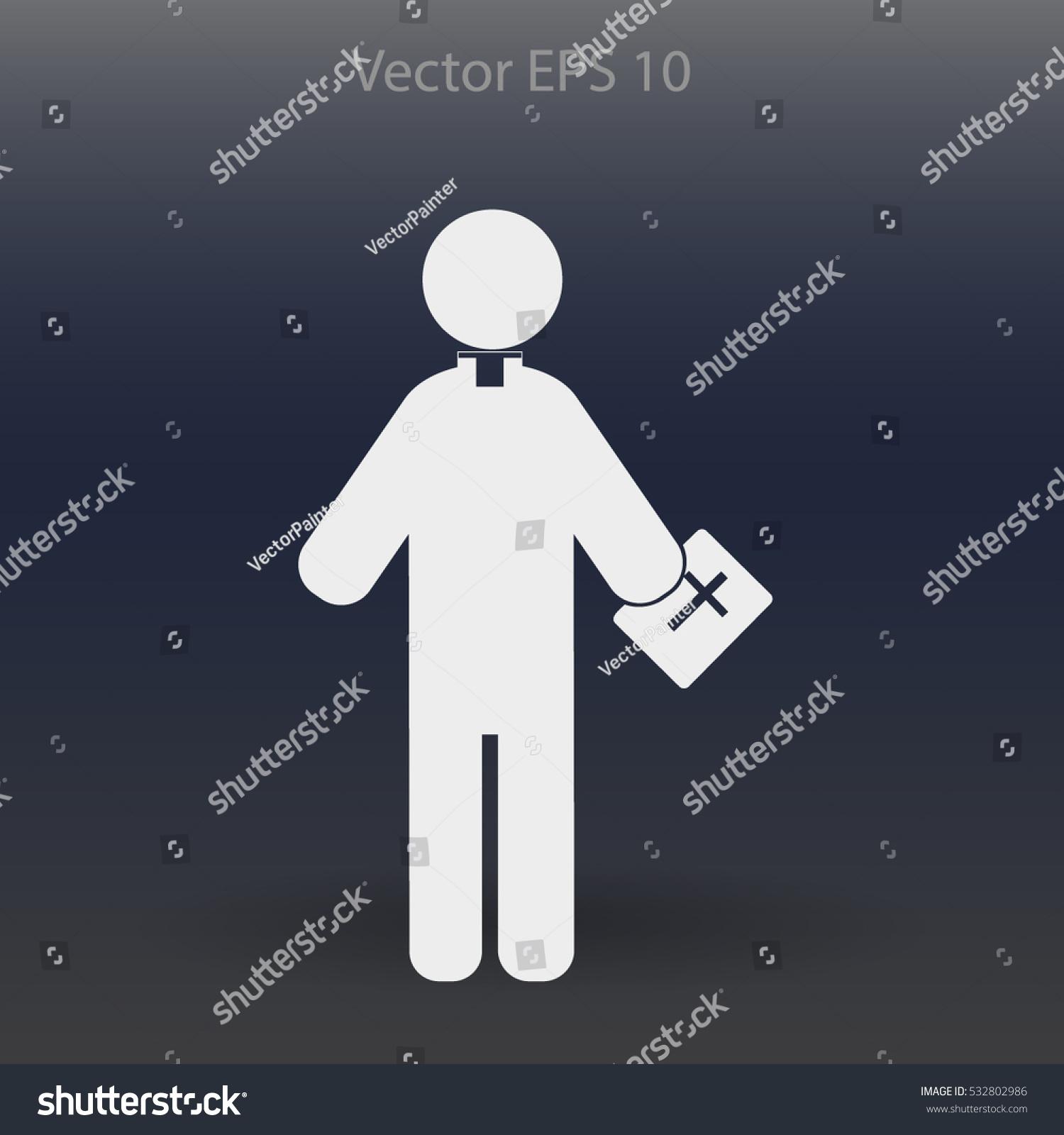 Pastor vector icon