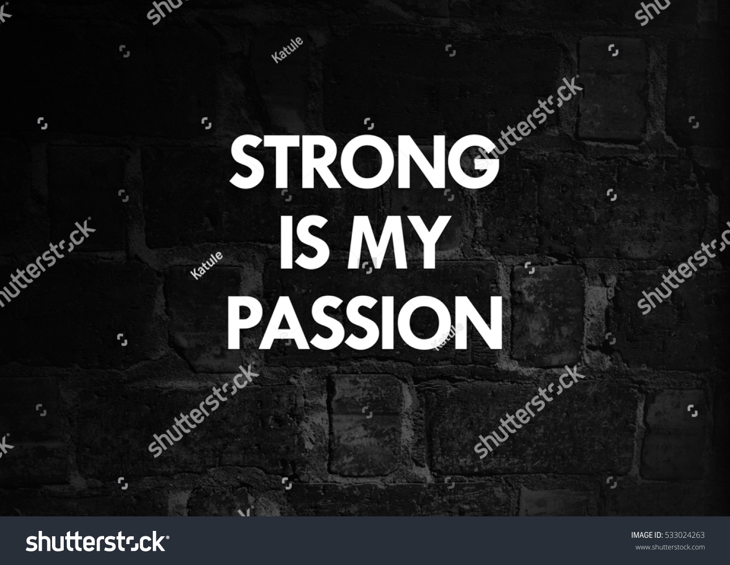 Fitness Motivation Quotes Stock Photo Edit Now 533024263