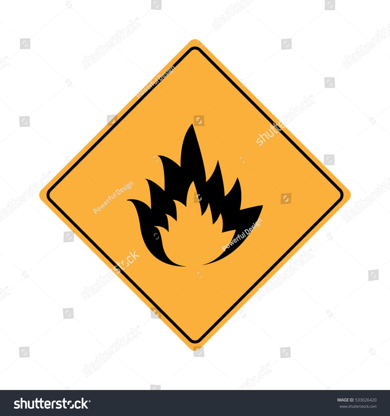 Warning flammable symbol image collections symbol and sign ideas warning flammable sign stock vector 533026420 shutterstock warning flammable sign buycottarizona buycottarizona