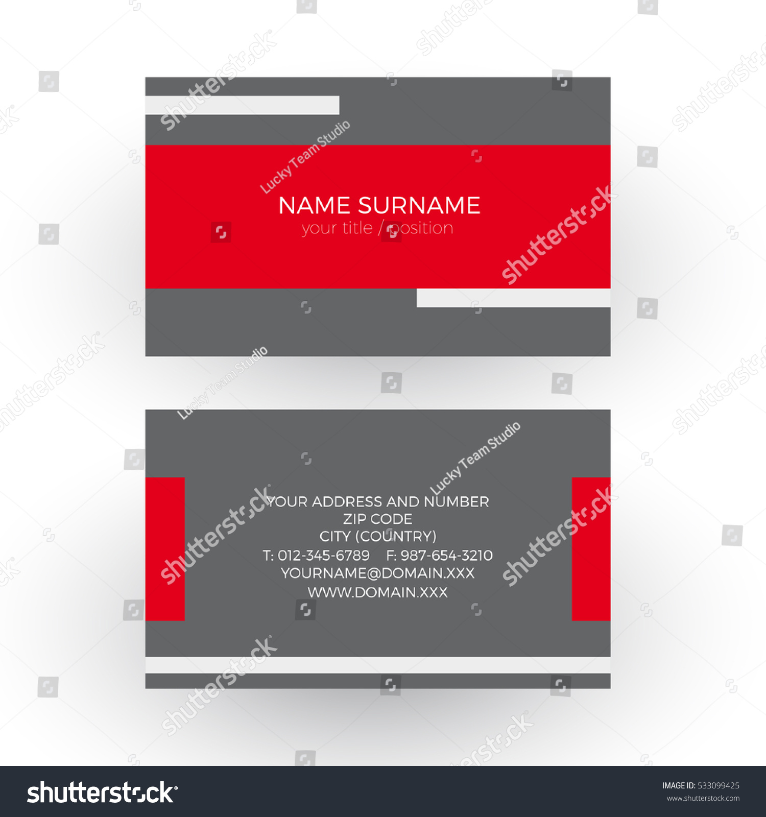 Vector Red Minimal Geometric Background Tape Stock Vector ...