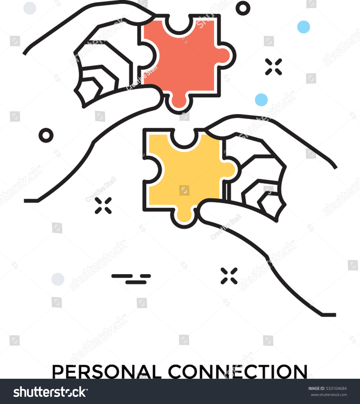 personal connection icon vector shutterstock