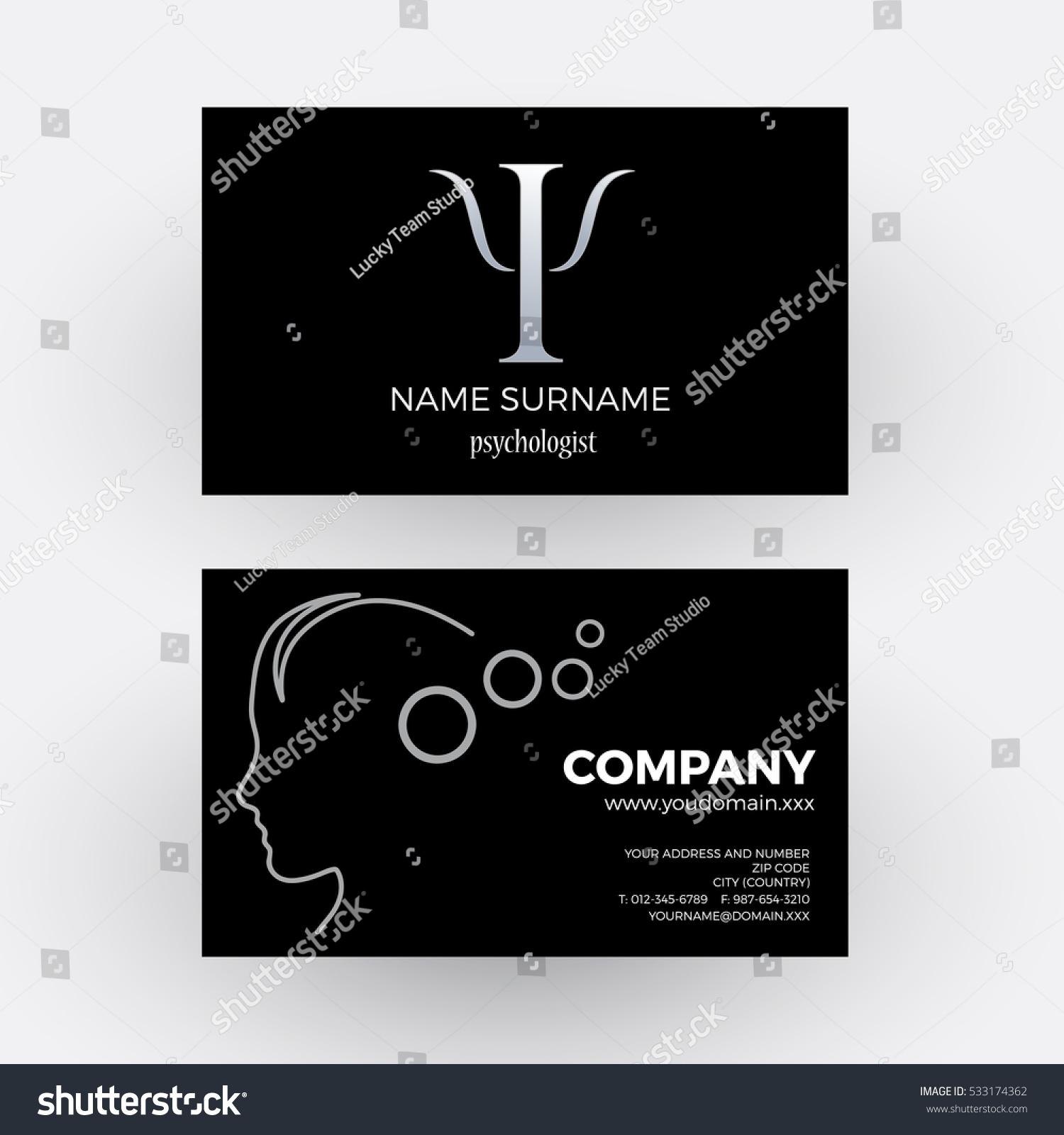 Cool Business Cards Psychologist Images - Business Card Ideas ...
