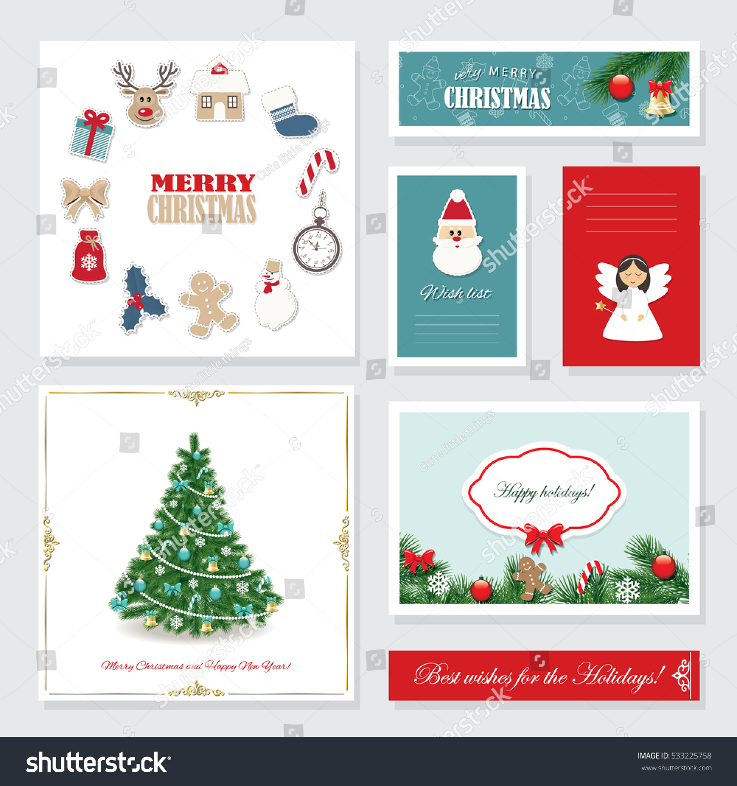 templates for christmas cards