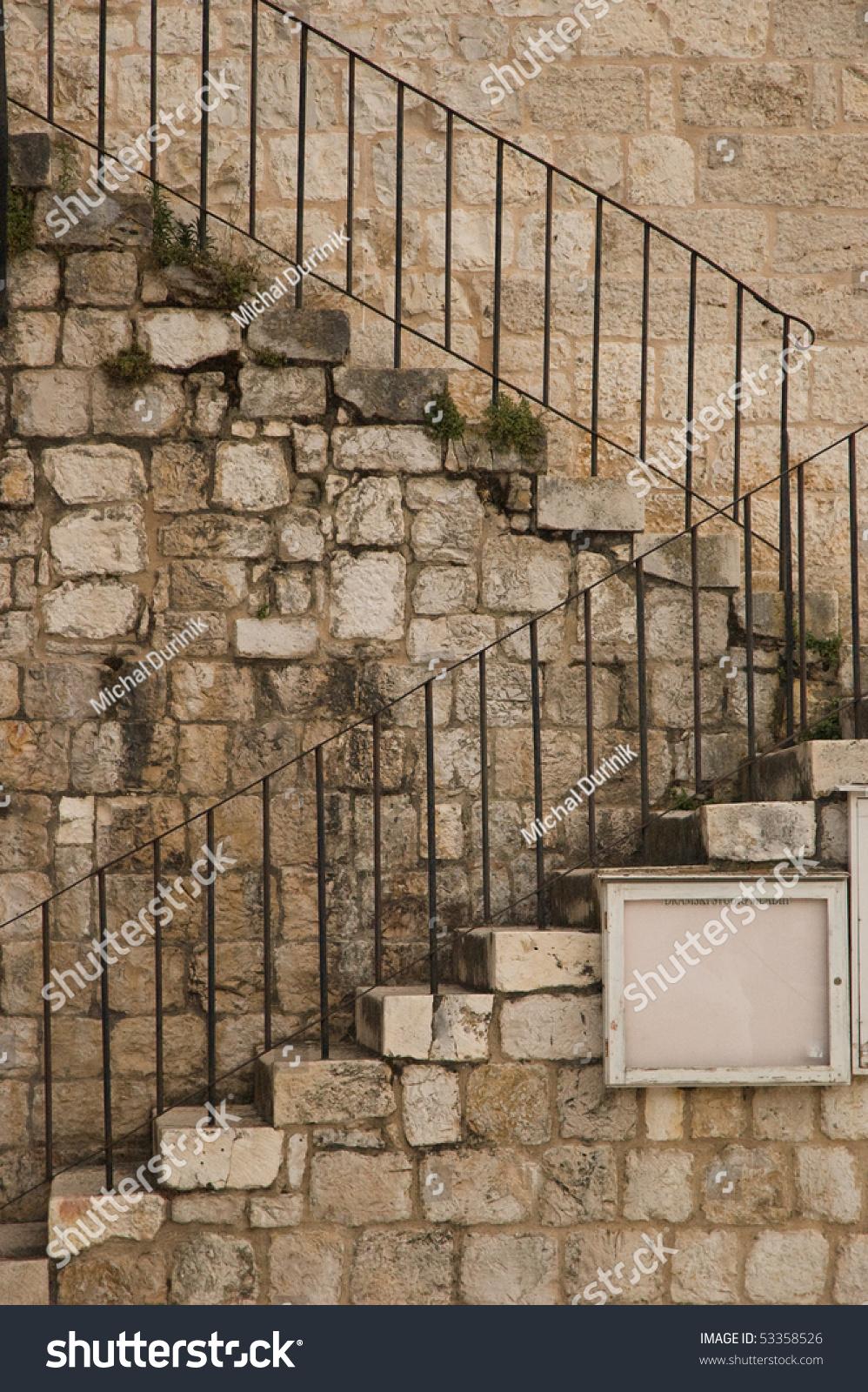 Exterior Stone Stairs