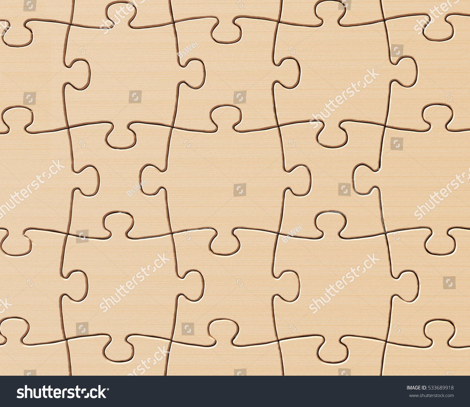 Wooden Puzzles Wall Full Frame Ez Canvas
