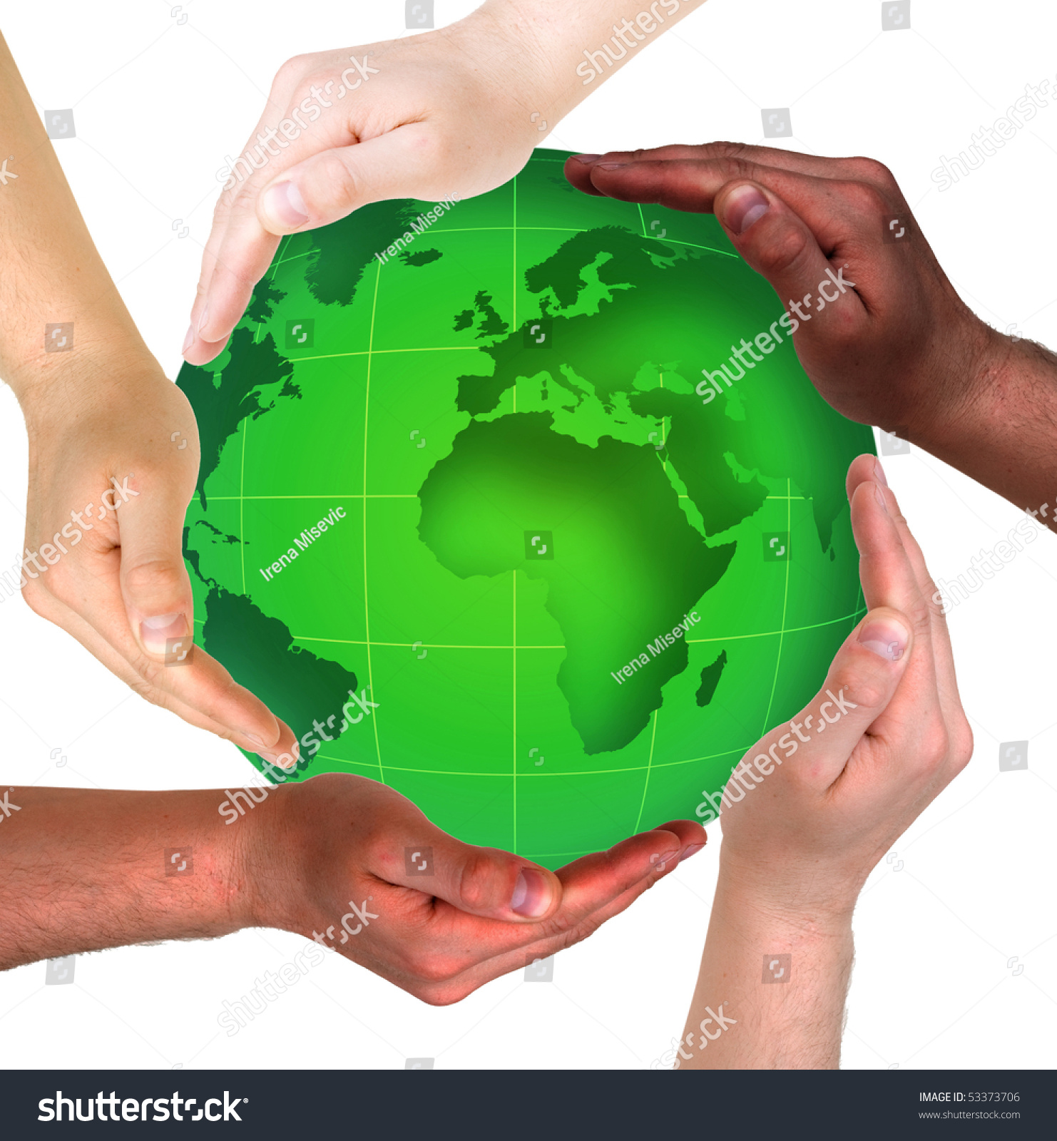 Conceptual safety symbol made hands over stock photo 53373706 conceptual safety symbol made from hands over globe biocorpaavc