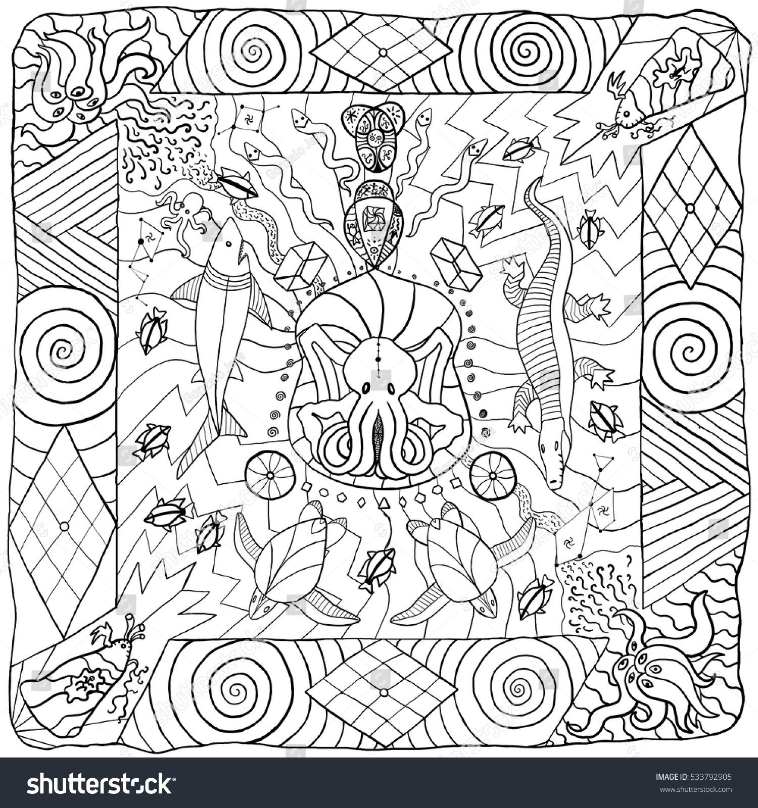 Lovecraft Cthulhu Mythos Themed Illustration Australian Stock ...
