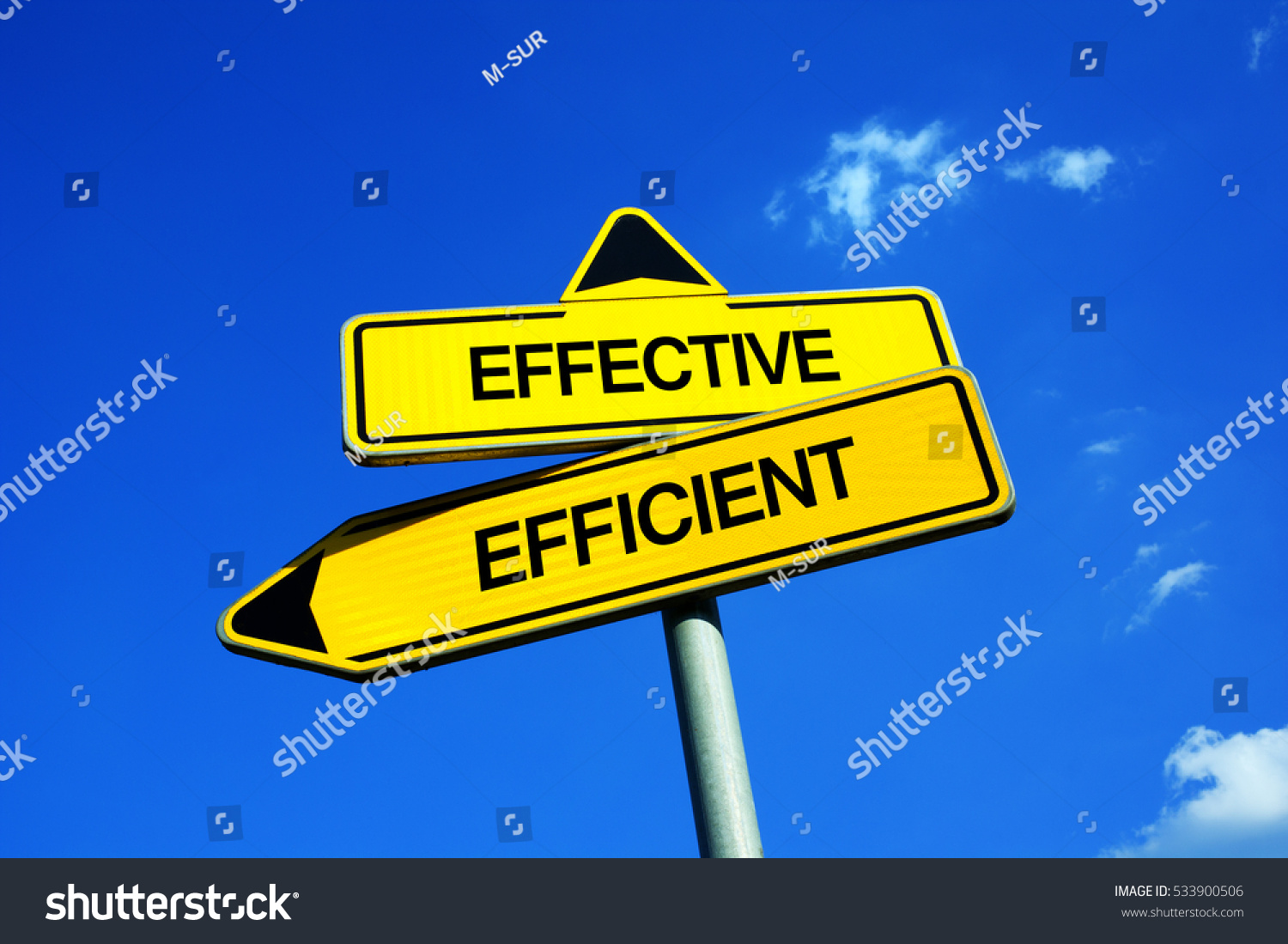 the difference between efficiency and effectiveness Efficiency and effectiveness are both commonly used management terms yet, while they sound similar and start with the same letters, they both mean different.