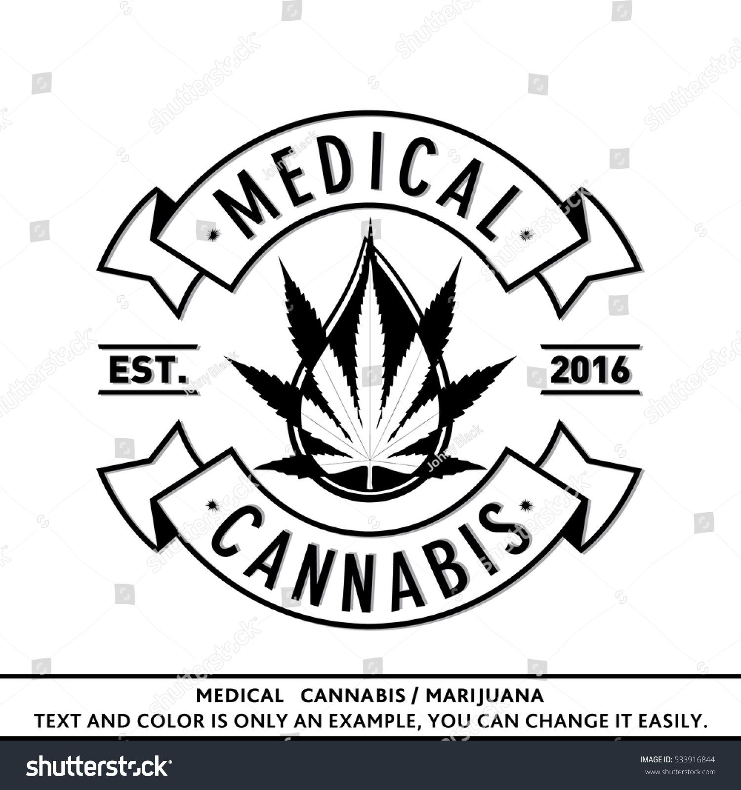 Medical cannabis marijuana logo vector illustration stock vector medical cannabis marijuana logo vector and illustration logo design t shirt biocorpaavc Choice Image