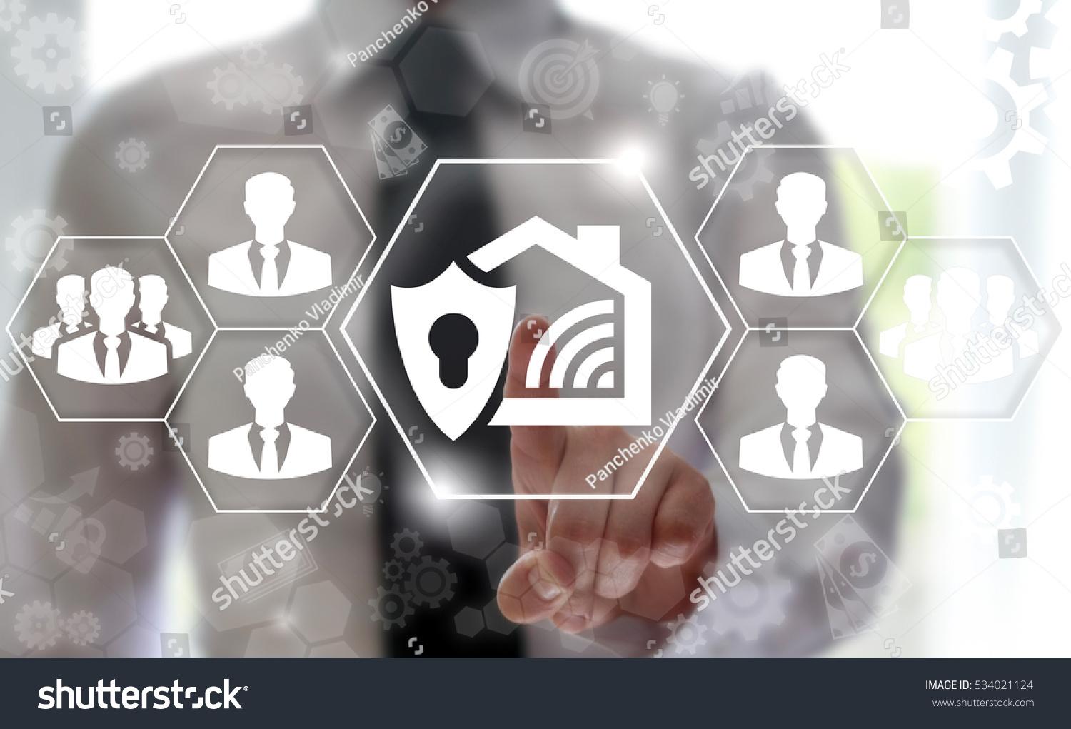 Internet Things Iot Security Smart House Stock Photo (Edit Now
