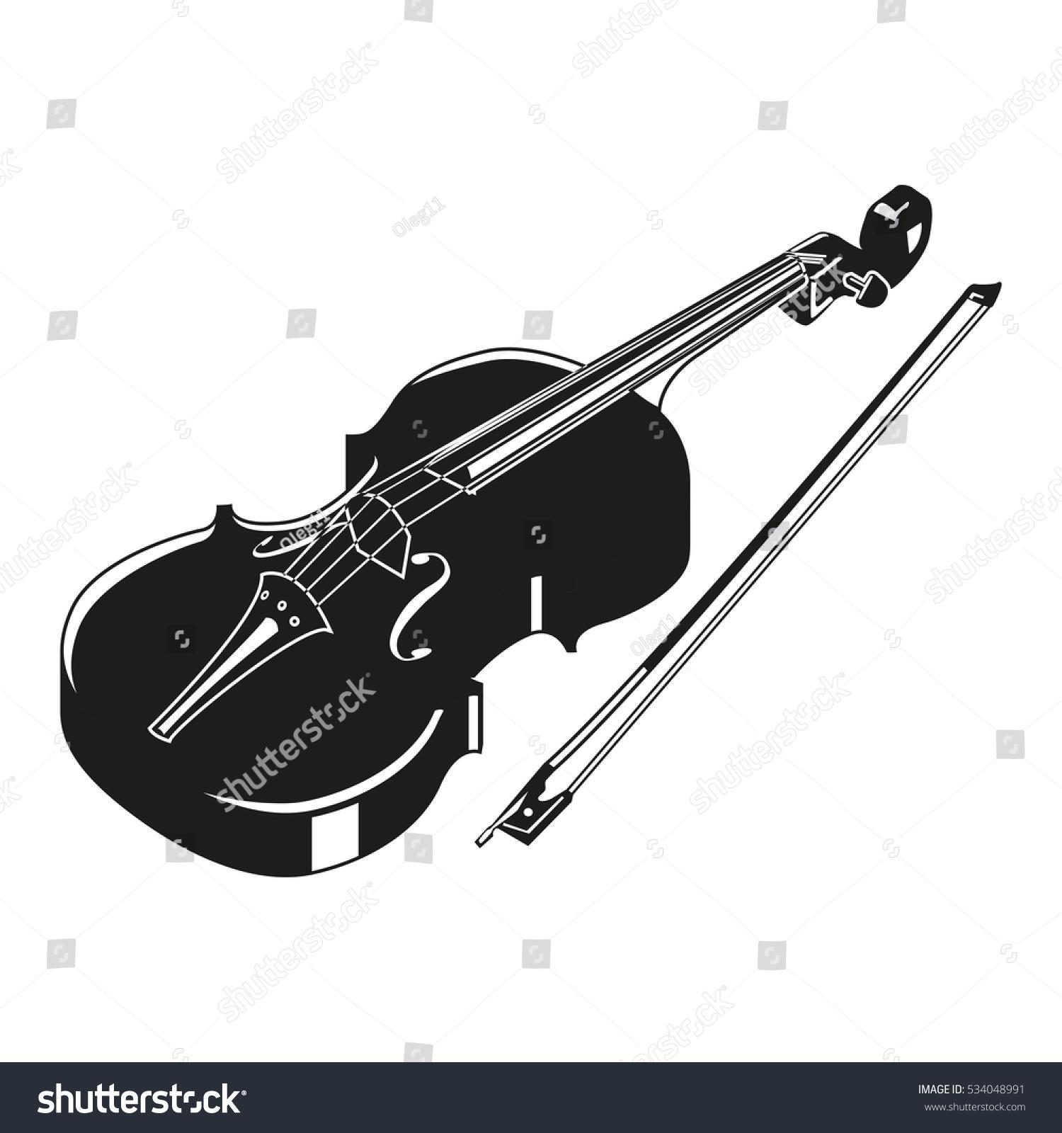 Violin Silhouette Related Keywords - Violin Silhouette ...