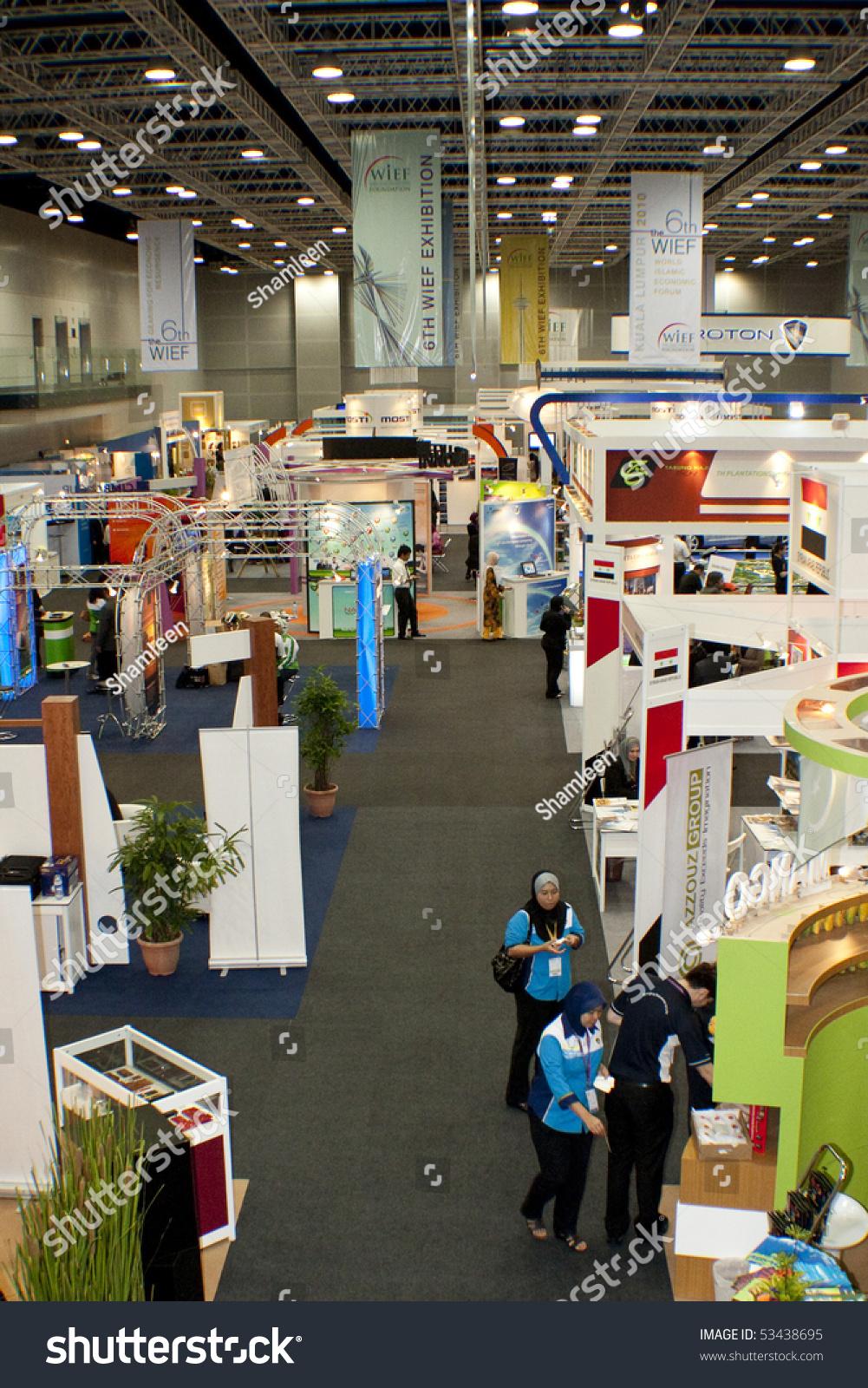 Exhibition Booth Rental Kuala Lumpur : Kuala lumpur malaysia mei row of exhibition booth