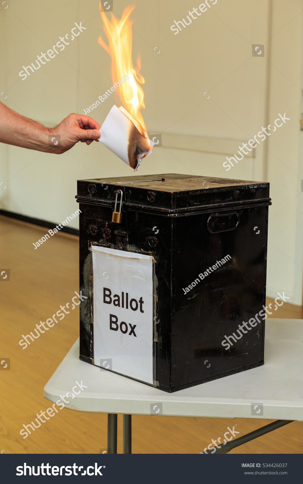 Commies are now going to burn ballot boxes in conservative neighborhoods (abc7.com)