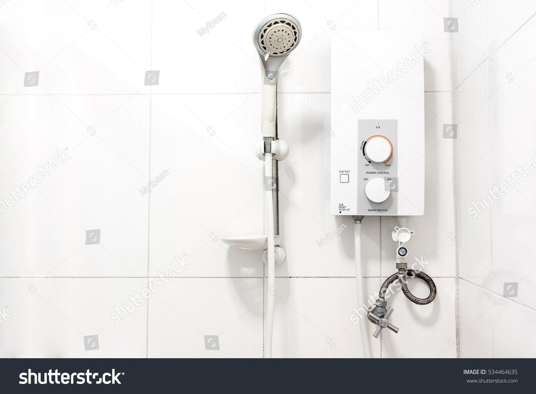Water heater in bathroom - Water Heater Shower Bathroom Stock Photo 534464635 Shutterstock