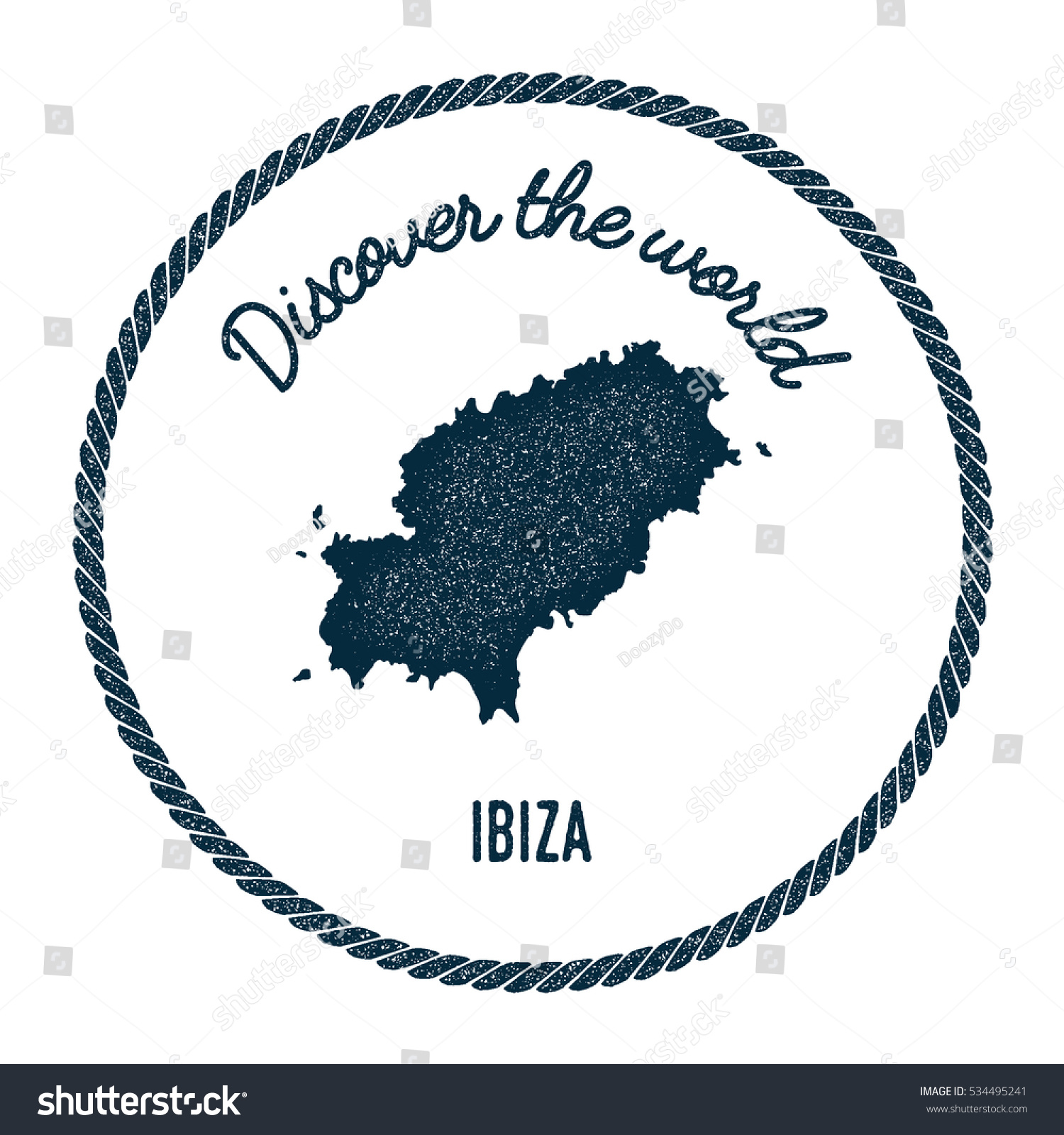 Ibiza map vintage discover world rubber vectores en stock 534495241 ibiza map in vintage discover the world rubber stamp hipster style nautical postage ibiza stamp gumiabroncs Choice Image