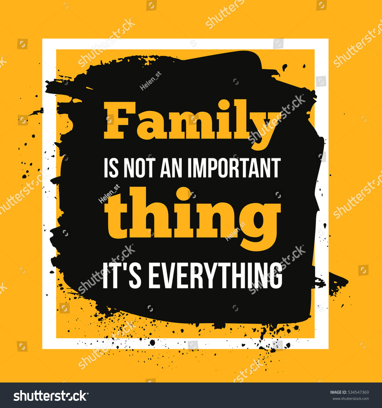Family Everything Can Be Used Housewarming Stock Illustration ...