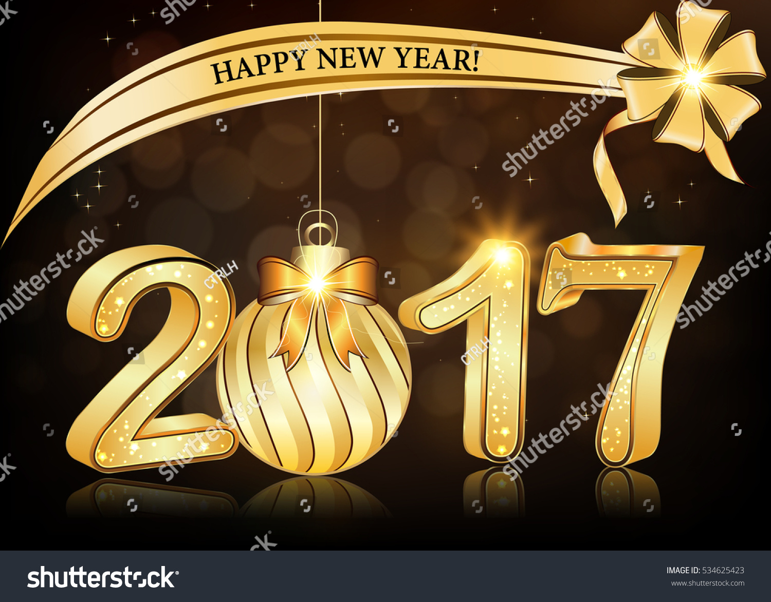 Elegant business happy new year 2017 stock illustration 534625423 elegant business happy new year 2017 background greeting card print colors used size magicingreecefo Gallery