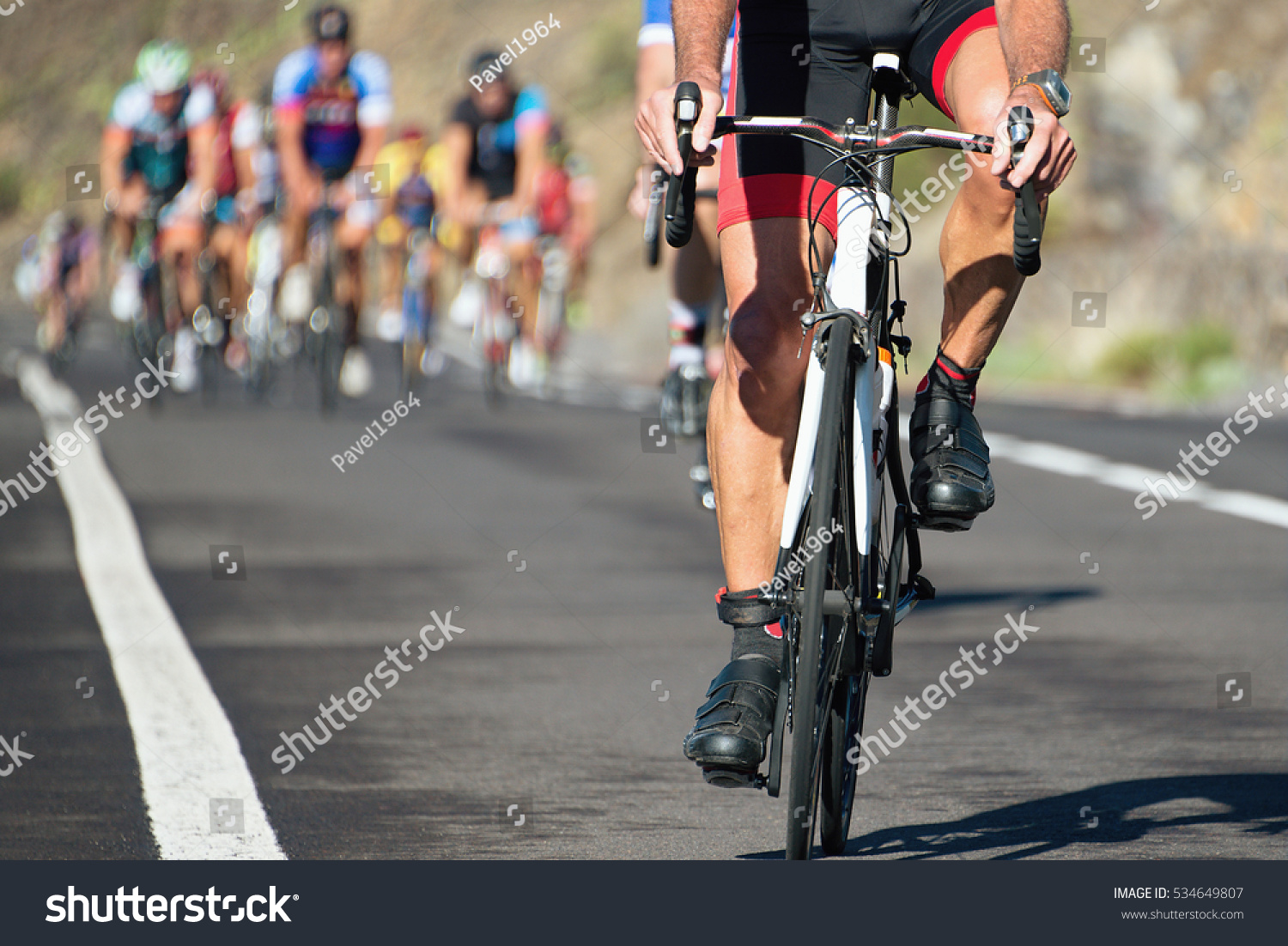 Cycling Competitioncyclist Athletes Riding Race High Stock ...