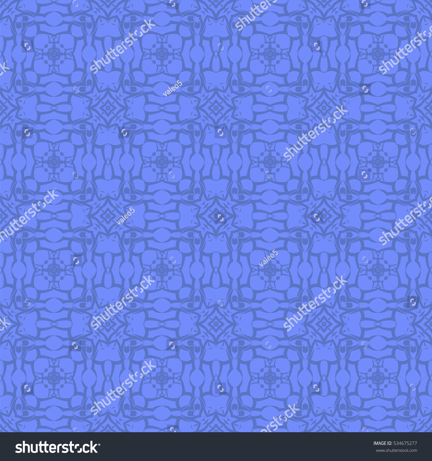 Line Texture Seamless : Vector blue ornamental seamless line pattern stock