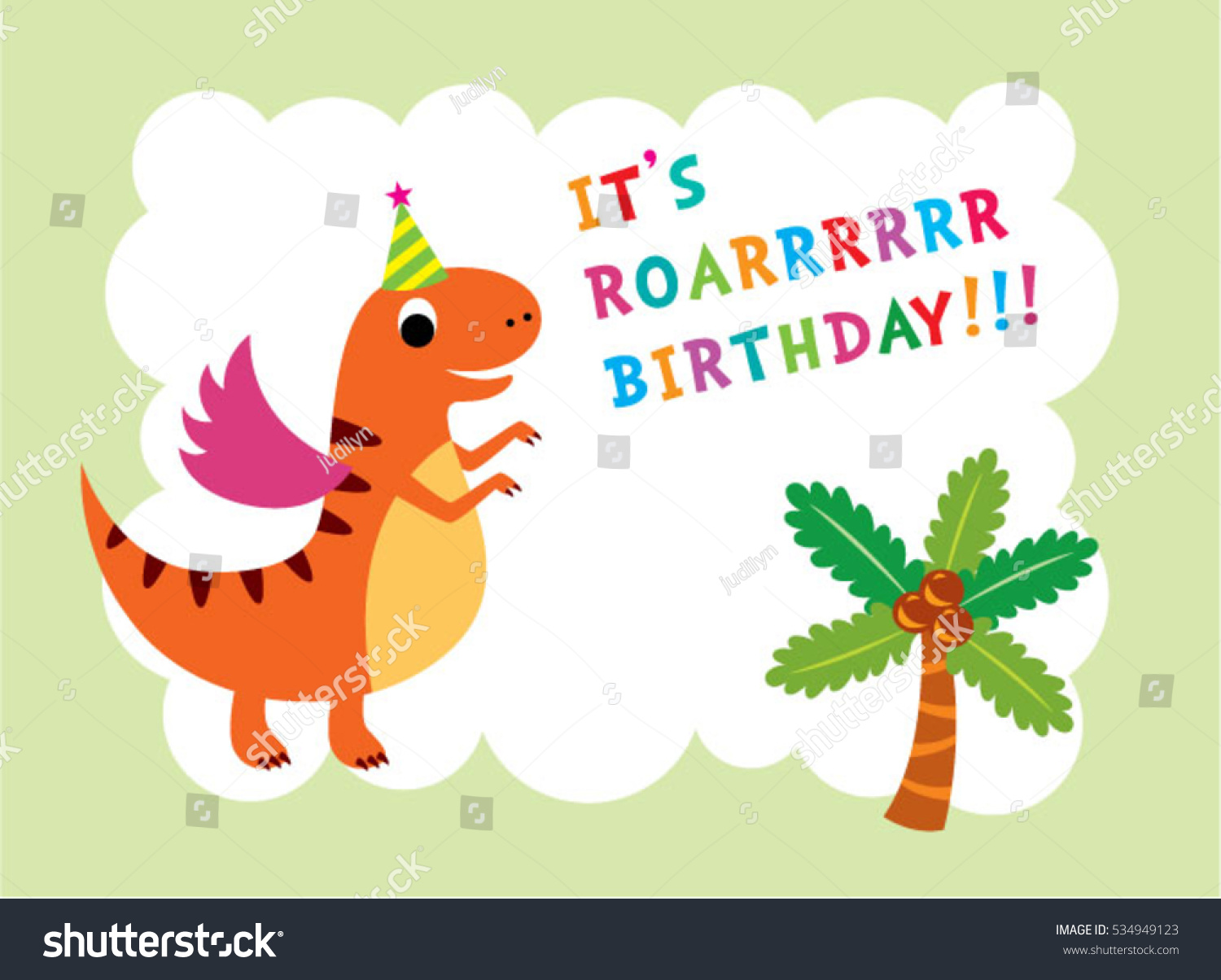 Dinosaur Funny Birthday Card Greeting By Recycled Paper Greetings