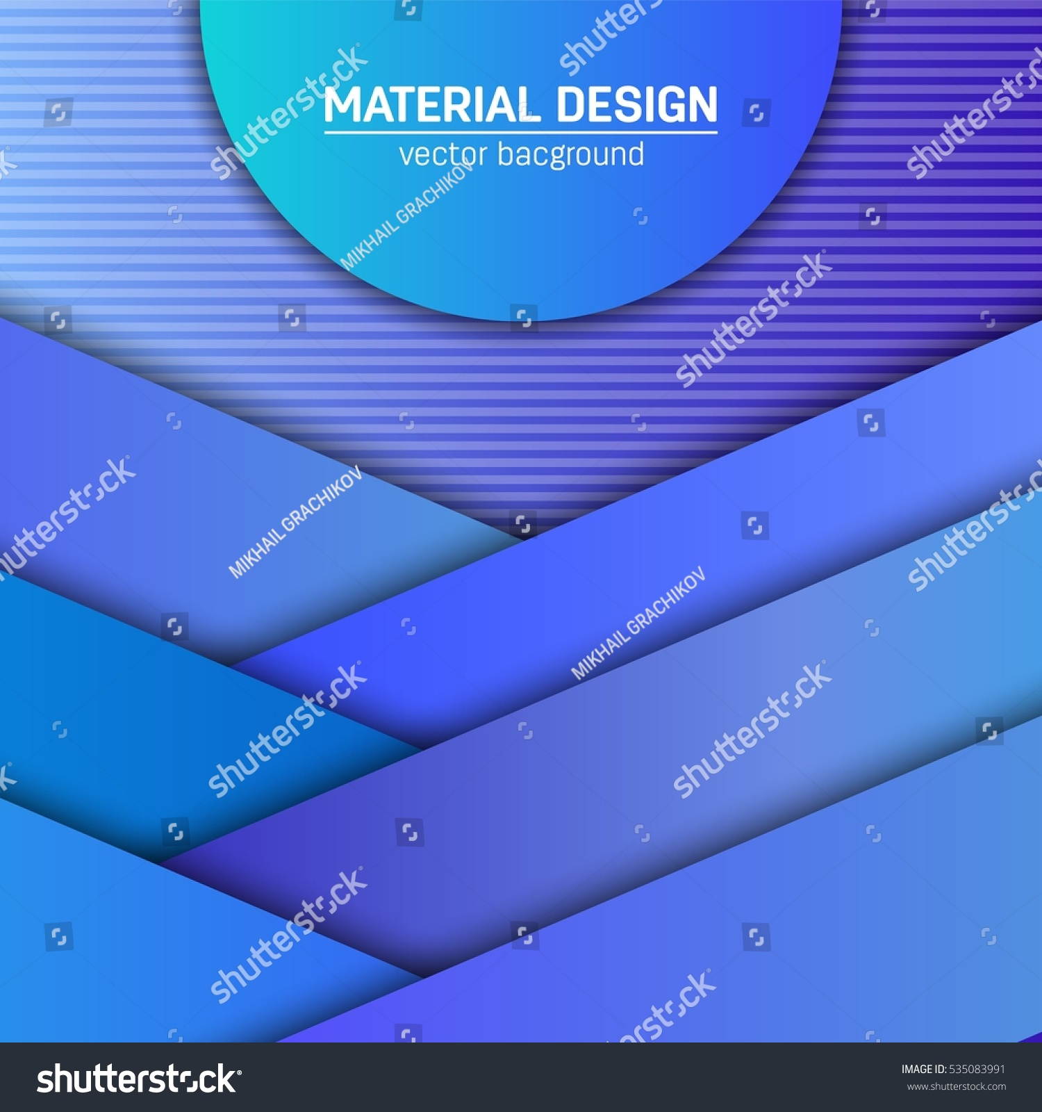 Vector material design background abstract creative stock vector abstract creative concept layout template for web and mobile app maxwellsz
