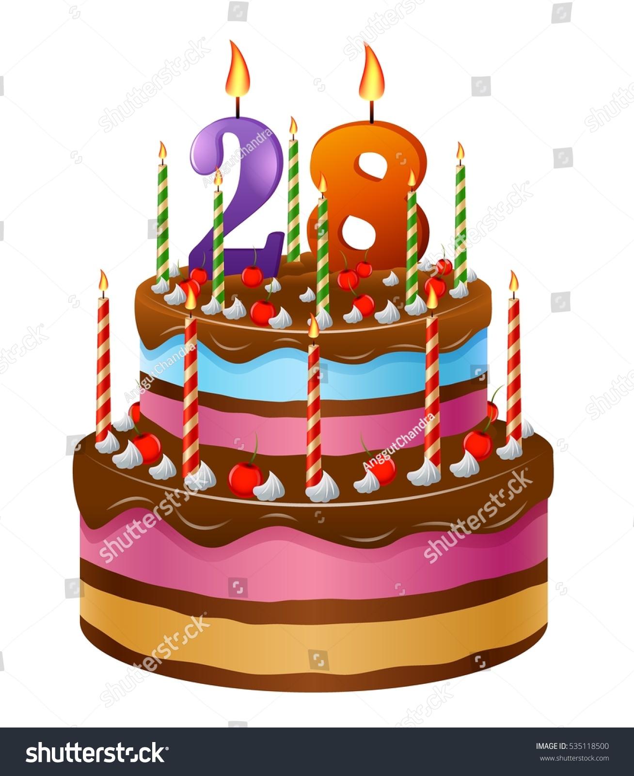 Miraculous Happy Birthday Cake 28 Stock Vector Royalty Free 535118500 Birthday Cards Printable Inklcafe Filternl