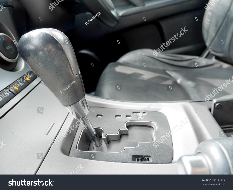 gear stick car interior stock photo 535138729 shutterstock. Black Bedroom Furniture Sets. Home Design Ideas