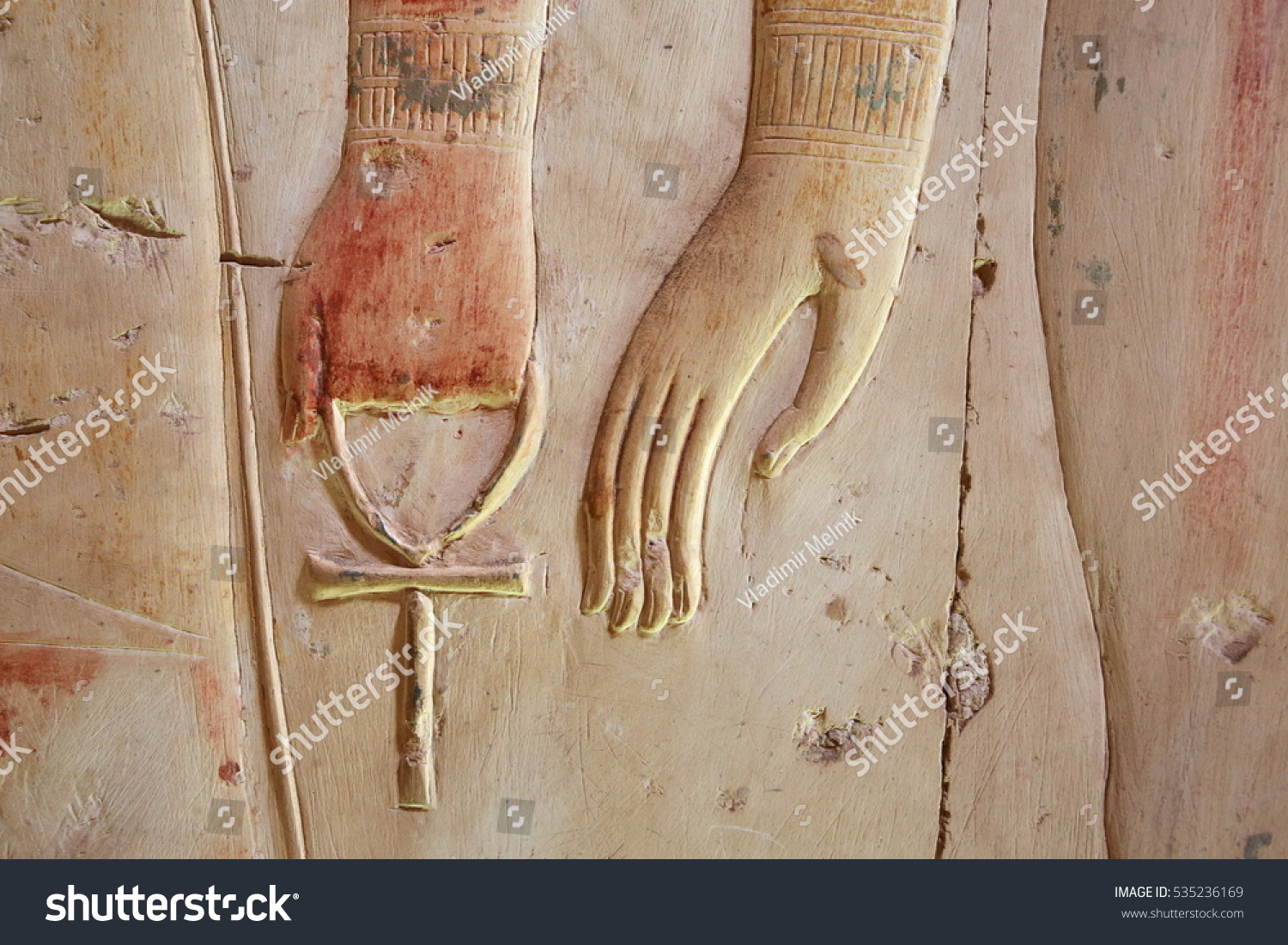 Ankh ancient egyptian symbol eternal life stock photo 535236169 ankh an ancient egyptian symbol of eternal life in hand of a god biocorpaavc