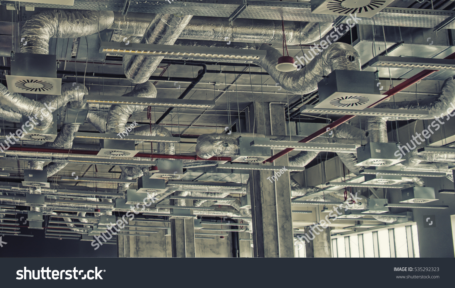 Air Cooling Industrial System Stock Photo 535292323 Shutterstock #797452