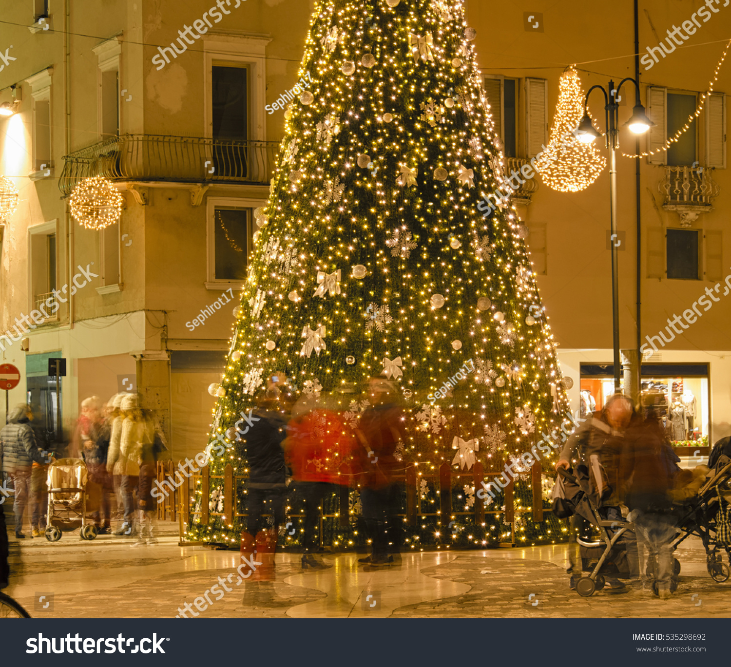 People Hunting Gifts Before Christmas Holidays Stock Photo (Edit Now ...