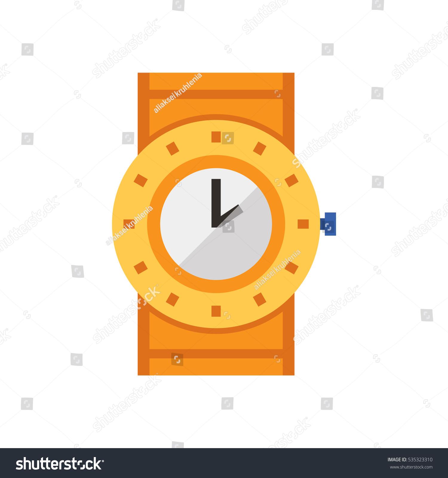 Sport Wrist Watch Vector Illustration Sports Stock Vector HD ...