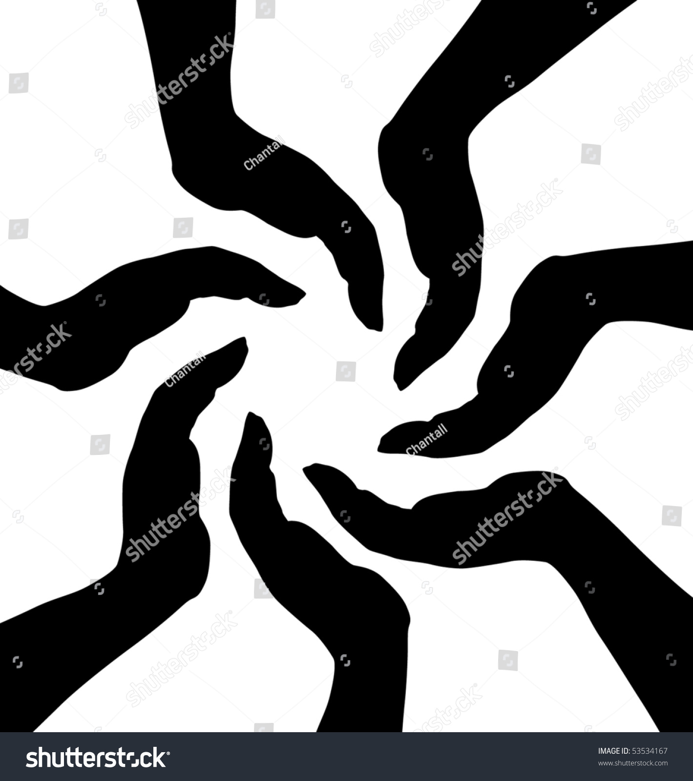 Human hands symbol protection stock vector 53534167 shutterstock human hands symbol of protection biocorpaavc
