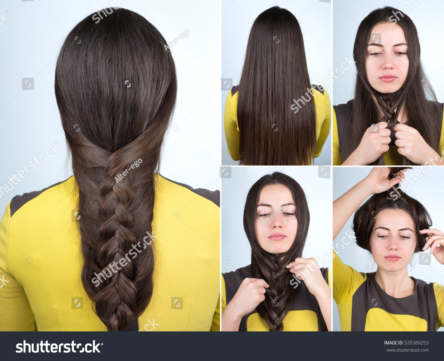 hairstyles for long hair step by step   YouTube